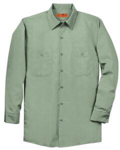 SP14 Red Kap Long Sleeve Industrial Work Shirt (Multiple Color Options)